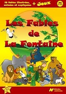 Les Fables de La Fontaine, CD-Rom ludo-éducatif