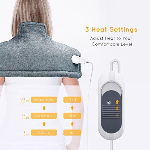 Zoom IMG-2 atmoko termoforo elettrico cervicale e