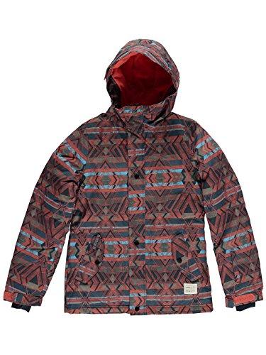 O'Neill Mädchen PG Cloaked Jacket Skijacke, White AOP, 176