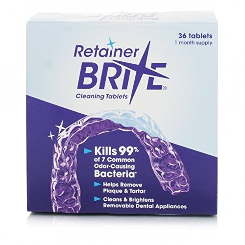 Retainer Brite Cleaning tablets - 36 Test