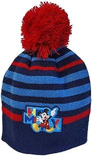 Cappello Invernale con PON PON Mickey Mouse Disney Topolino Taglia Unica (52 CM) - MIC-A-HAT-316ROSSO