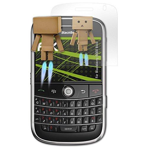 atFolix Displayfolie kompatibel mit BlackBerry 9000 Bold Spiegelfolie, Spiegeleffekt FX Schutzfolie Blackberry Bold Screen Protector