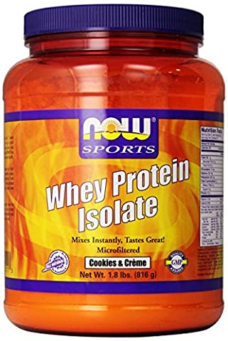 Whey protein isolate - 816 g - Cookies - Now foods