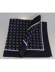 Halstuch Anker blau 70x70 cm Spitzenqualität von Modas mit Mengenrabatt