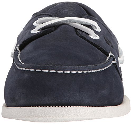 Sperry Top-Sider A/O 2-Eye Washable, Chaussures Bateau Homme, Marron Bleu (Navy)