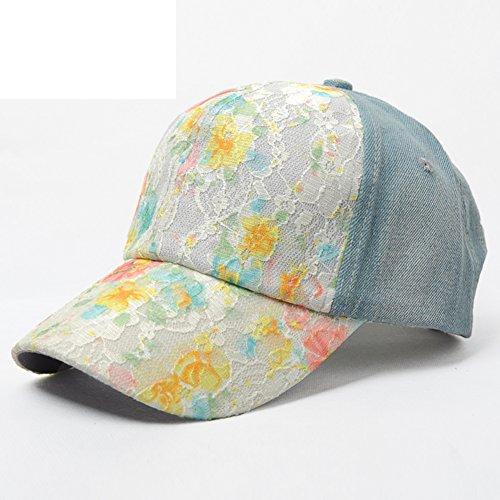 casquette de baseball d'été/Mode bonnet de dentelle/Loisirs chapeau de soleil/visière extérieure C