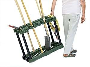 support en plastique de jardin pour outils jardin le rangement des outils jardin. Black Bedroom Furniture Sets. Home Design Ideas