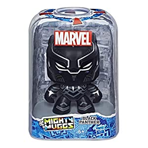 Marvel Classic- Mighty Muggs Figura Coleccionable de Marvel, Black Panther, Multicolor, Estándar (Hasbro E2196EU4)