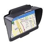 TFY GPS Sonnenschutzvisier für Navigationsgeräte wie Garmin nüvi 42LM, für 11 cm portable Auto-GPS-Geräte und andere 12.5 cm GPS-Geräte