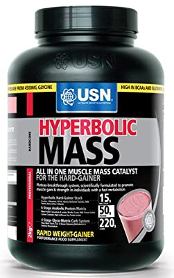 USN Hyperbolic Mass Weight and Muscle Gain Shake Powder from USN