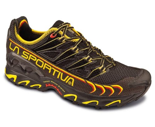 La Sportiva Zapatillas de senderismo Ultra Raptor Black / Yellow 47m