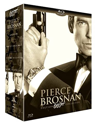 Coffret Pierce Brosnan - 007: Goldeneye; Demain ne meurt jamais;