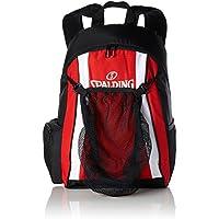 Spalding funda Backpack, color Varios colores - rojo, negro y blanco, tamaño 47 x 39 x 19 cm, 35 Liter, volumen liters 35.0