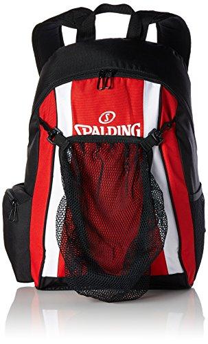 Spalding Tasche backpack, rot/schwarz/weiß, 47 x 39 x 19 cm, 35 Liter, 300453202