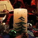 Give U - Vela LED con Temporizador, diseño de árbol de Navidad, sin Llama, Funciona con Pilas, decoración del hogar