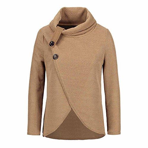 TWIFER 2019 Herbst Damen Langarm Solid Sweatshirt Frauen Pullover Sweater (Elvis Army Kostüm)