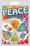 Hot Picks Lot de 6 médiators Peace