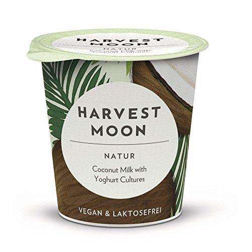 Harvest Moon Bio Kokosmilch-Joghurt Natur (6 x 125 gr) (Kokosmilch Joghurt)
