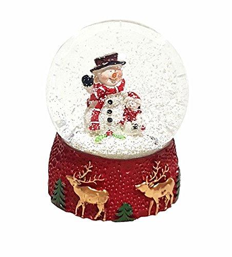 hneekugel Schüttelkugel Schneemann Weihnachtsdekoration Dekoration Geschenk ()
