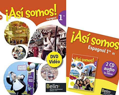 Asi Somos 1re - Coffret Classe (CD + DVD) 2015