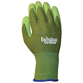 Atlas Gloves ATLASC5301M Bellingham Glove Bamboo Liner w - Rubber Palm M