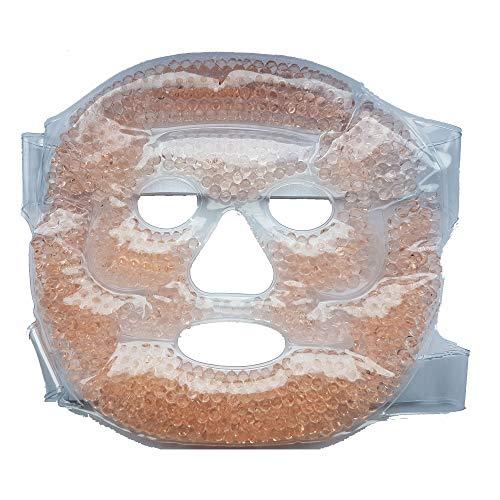 Gel Gesichtsmaske Kühlmaske Wärmemaske Gelkugel Maske Gesicht kühlen wärmen