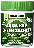 Thetford Aqua KEM Green Sachets wasserlöslische Beutel für Fäkalientank 15 St. / Dose Sanitärmittel Reinigung mobil Toiletten