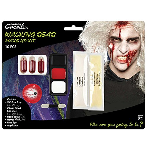 king Dead Zombie 10 PCE Make Up Kit Alter 14 + ()