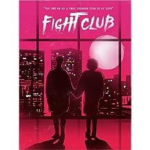 Póster 30 x 40 cm: Fight club movie scene art print de 2ToastDesign - impresión artística de alta calidad, nuevo póster artístico