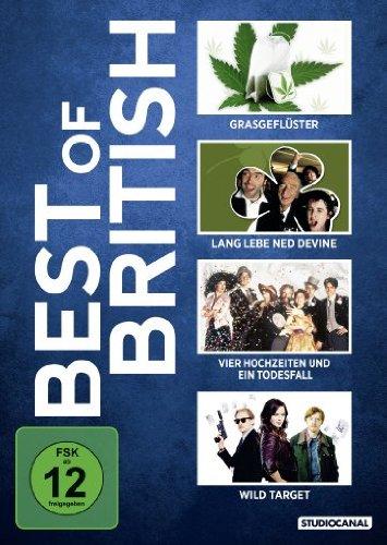 Best of British: Grasgeflüster / Lang lebe Ned Devine! / u.a. [4 DVDs]