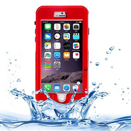Wkae Case & Cover link rêve pour iphone 6 plus &6s et protection étanches avec cordon ( Color : Yellow ) rot