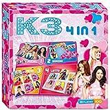 Studio 100 MEK300003000 - K3 4 in 1 Play Box