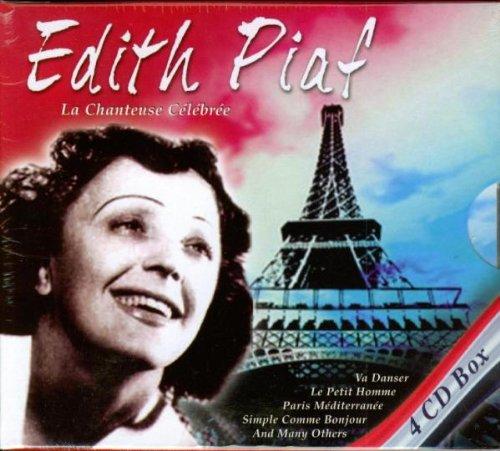 Edith Piaf - La Chanteuse Celebre Edith Piaf-box-set