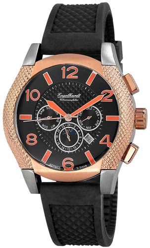 Engelhardt Men's Automatic Watch 387721329016 with Leather Strap