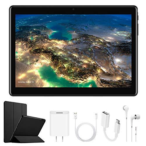 tablet 10.1 4G Tablet 10.1 Pollici con Wifi Offerte DUODUOGO Tablet PC Offerte Android 7.0 con Slot per Scheda SIM Doppio OTG 8500mAh Memoria RAM da 2GB+32GB 8MP Camera Quad Core Tablet Sbloccato Bluetooth
