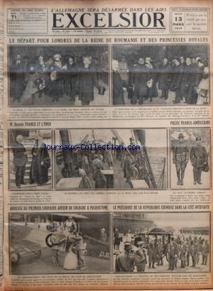 EXCELSIOR [No 3036] du 13/03/1919