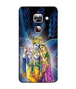 PrintVisa Designer Back Case Cover for LeEco Le 2s :: LeEco Le 2 Pro :: LeTV 2 Pro :: Letv 2 :: LeEco Le 2 (Ram Rama Ganesh Ganapati Krishna Srikrishna Kisna Kanayya Kanaiyah Mohana)