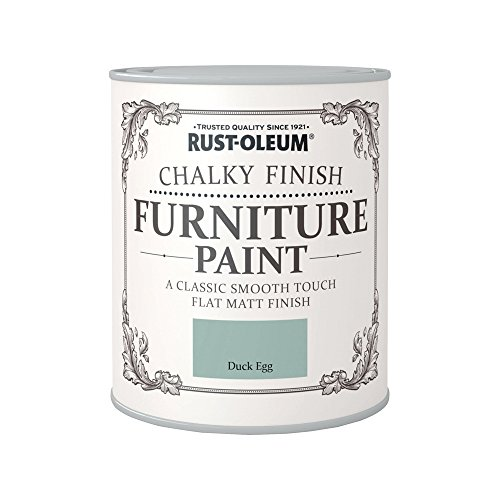 Rust-Oleum Chalky Finish Furniture Paint - Duck Egg - 750ml