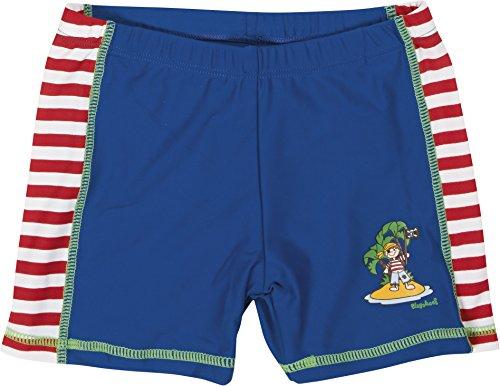 Playshoes Jungen Badeshorts Badeshorty Pirateninsel, UV-Schutz nach Standard 801 und Oeko-Tex Standard 100, Gr. 134 (Herstellergröße: 134/140), Mehrfarbig (original 900)