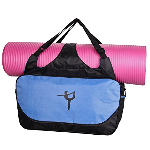 Aeoss-waterproof-Yoga-Gym-Beach-Travel-Weekend-Overnight-Bag-or-Tote-Stylish-Carry-on-For-All-Essentials-Adjustable-Straps-For-Yoga-Mat-Towels-or-Blanket