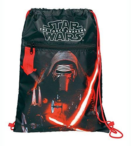 Undercover Star Wars episodio 7 bolsa, aproximadamente 41 x 32 cm bolsa de deporte, 6 litros, colour gris