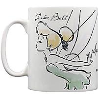 Tinkerbell Magic Mug en céramique à motif Fée Clochette officiel dans une boîte Multicolore 315ml