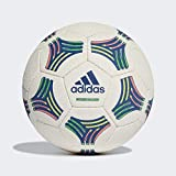 adidas Tango Allround White/BOBLUE Ball (Hand-Stitched) Homme, Bold Blue, FR : M (Taille Fabricant : 5),Blancwhite/Bold blue,FR : M (Taille Fabricant : 5)