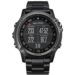 Garmin Herren-Armbanduhr Analog, digital One Size, schwarz