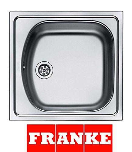Franke Lavello in acciaio inox euto Star 610 I, seta lucida, 1 pezzi ...