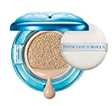 Physicians Formula - Mineral Wear All In One ABC Cushion Foundation - flüssig Foundation in Puderdose mit Mineral Wear All in 1-ABC-Soft-Kissen, SPF 50, Natural, 1er Pack, 14ml