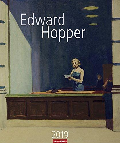 Edward Hopper - Kalender 2019 - Weingarten-Verlag - Kunstkalender - Wandkalender - 46 cm x 55 cm