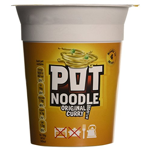 POT NOODLE AL CURRY 90G