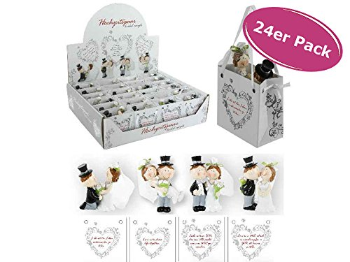 Hochzeitspaar in Tüte, 24er Display
