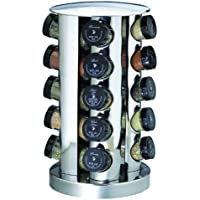 Kamenstein 20-Jar Revolving Spice Tower with Free Spice Refills for